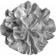 Fabric Flower Template 005