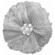 Tulle Flower Template 01