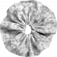 Fabric Flower Template 012