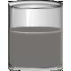 Layered Glass of Liquid Template