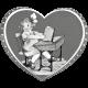 Vintage Valentine Template 01