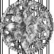 Ornate Gem Button Template 01