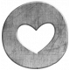 Heart Charm Template 02