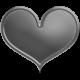 Layered Heart Brad Template