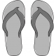 Flip Flops Template